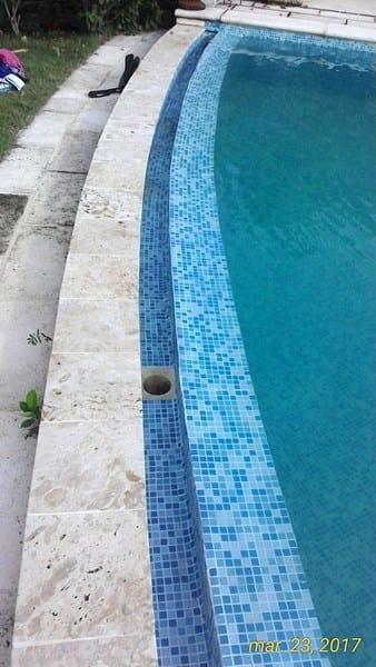 Esquema piscina con desborde infinito de 22x2 5x1 4 de for Esquema hidraulico piscina