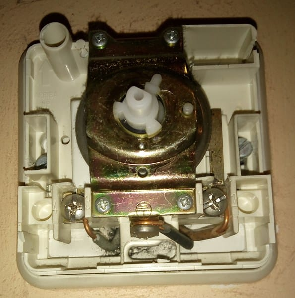 Sustituci n termostato anal gico 3 cables por digital for Termostato analogico calefaccion