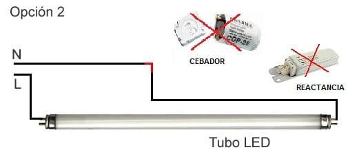 Sustituir tubos fluorescentes por led electricidad del - Cambiar fluorescente por led ...