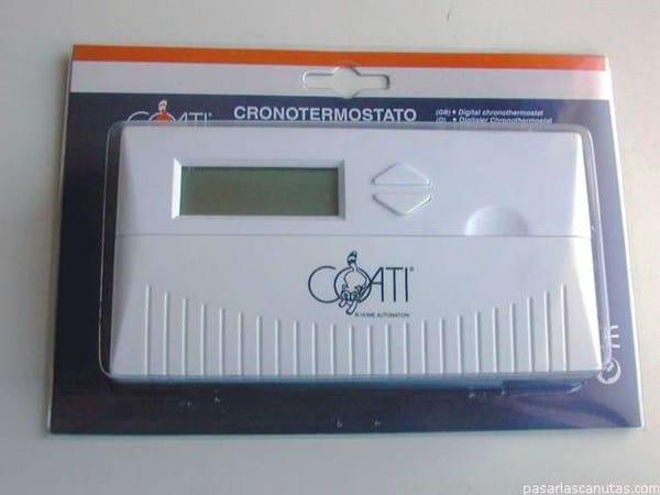 Puedo usar cronotermostato para programar iluminaci n de for Termostato digital calefaccion programable