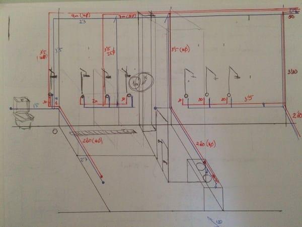 Como hacer instalaci n de agua en peque o gimnasio - Como hacer una instalacion de fontaneria ...