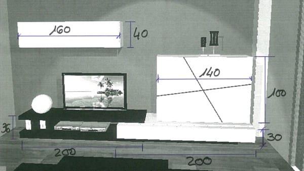 colgar mueble modular en pladur decoraci n