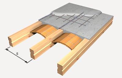 Nivelar suelo desde bovedillas arquitectura - Forjados de madera laminada ...