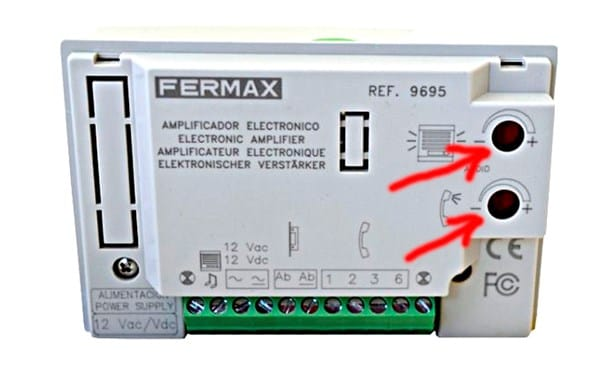 Telefonillo marca fermax placa de la calle se ha quedado for Telefonillo fermax esquema