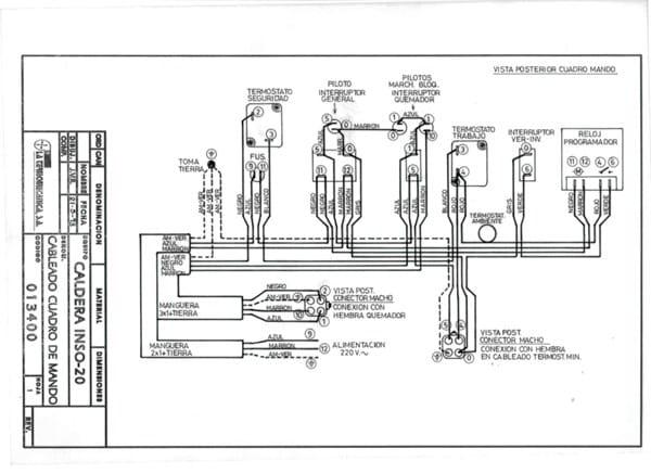conectar termostato caldera quemoil inso 20 - calefacci u00f3n y aire acondicionado