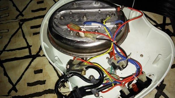 Calder n plancha que no calienta reparaciones for Planchas para revestimiento interior