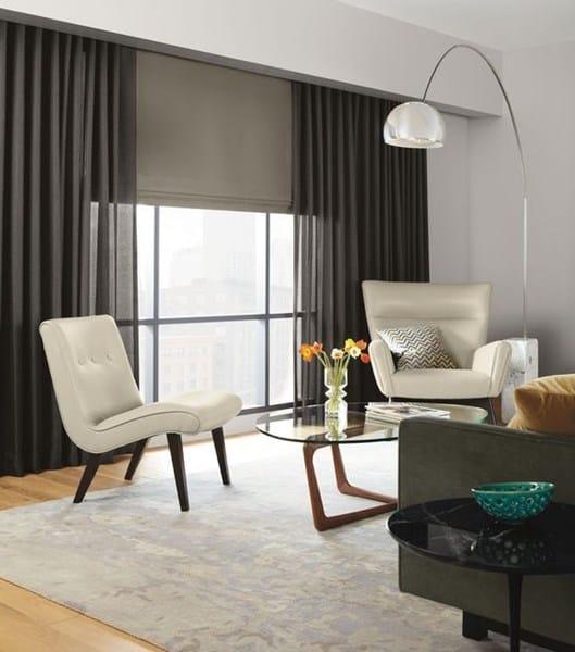 Cortinas o estores o se pueden combinar decoraci n - Combinar cortinas y estores ...