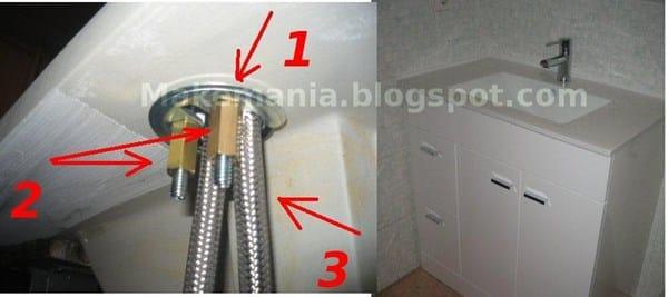 Desmontar grifo de cocina grohe zedra fontaner a for Desmontar grifo monomando