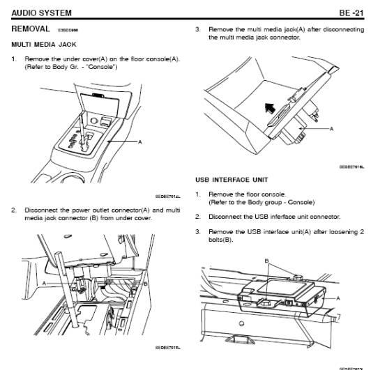2013 kia optima stereo diagram  kia  auto parts catalog