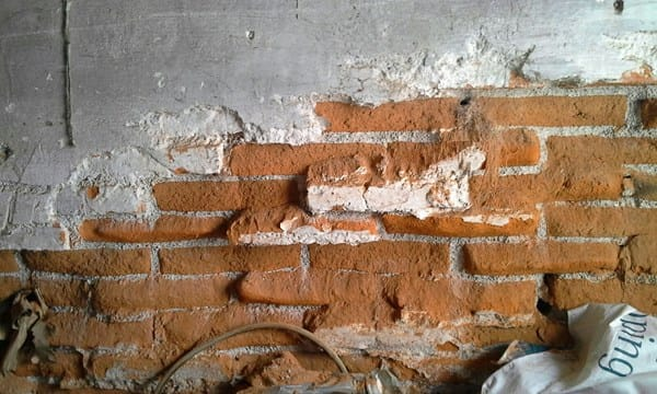 Cómo arreglar pared de ladrillos? - Albañilería - Todoexpertos.com