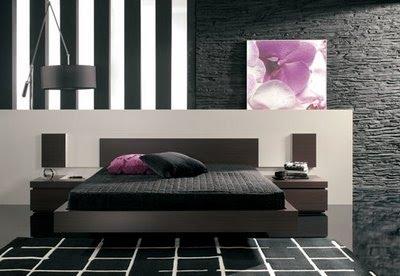 Elegir color de pared para dormitorio decoraci n - Cabeceros de piedra ...