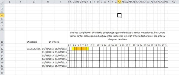 formato condicional con varios criterios