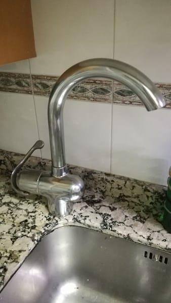Desmontar grifo de cocina grohe zedra fontaner a for Grifo grohe cocina extraible