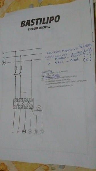C mo conectar mando a distancia ventilador techo electricidad del hogar - Ventilador de techo mando a distancia ...