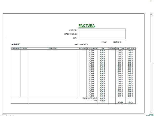 usar función si en factura con varios fórmulas microsoft excel