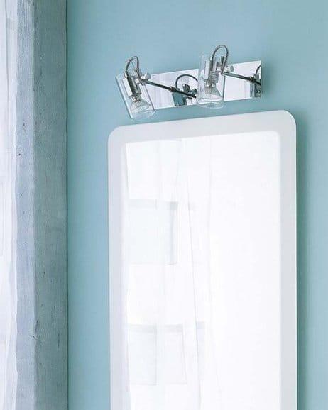 Apliques para espejo redondo de ba o decoraci n - Apliques de luz rusticos ...