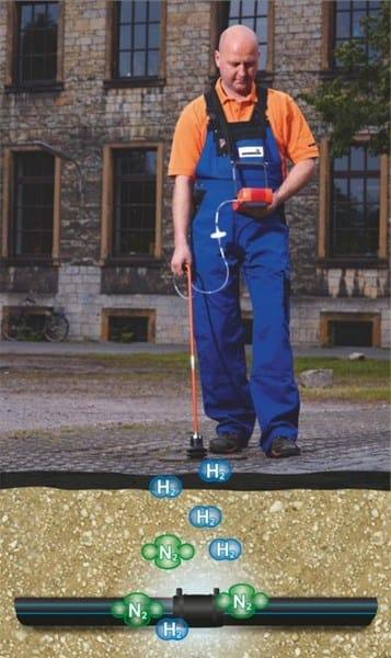 Fuga de agua en tuber a casa y jard n - Detector de tuberias de agua ...