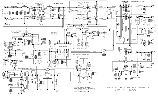 Fda De Daf B Aec A F on Atx Power Supply Schematic Diagram